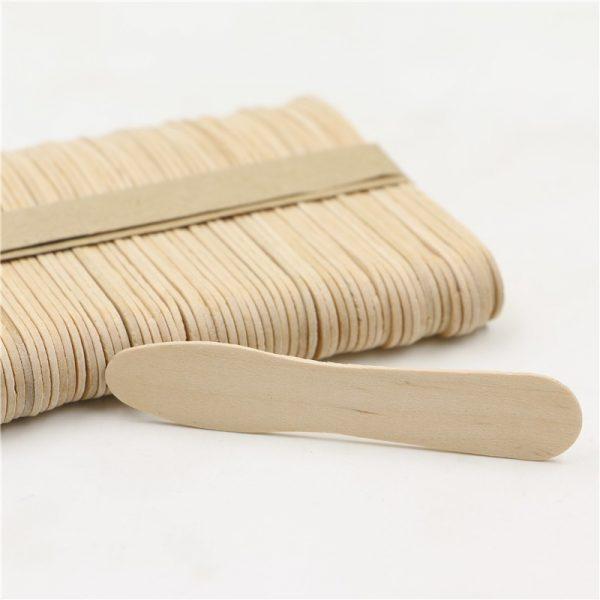 Paleta para helado de madera