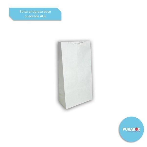 Bolsa-antigrasa-base-cuadrada-4LB-Biodegradable-purabox