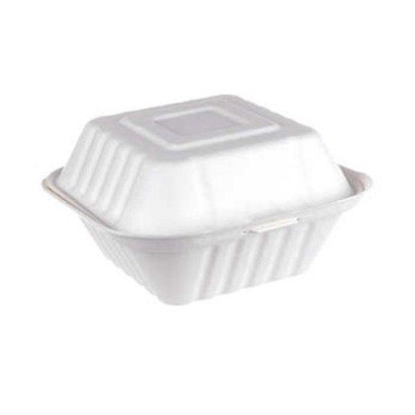 Porta hamburguesa de pulpa de papel-Biodegradable-Purabox