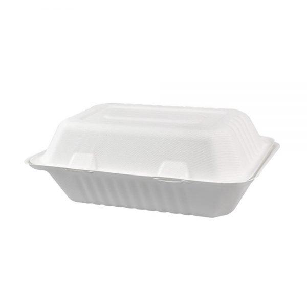 Portacomidas sin división de pulpa de papel J1 Biodegradable Purabox