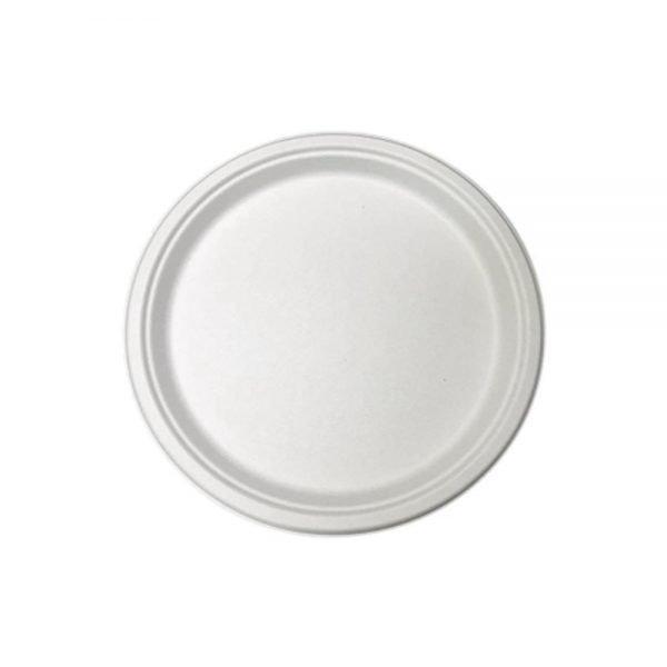 Plato-redondo-pulpa-de-papel-pequeño-16cm-biodegradable-purabox