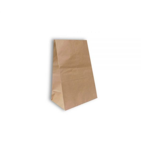 Bolsa kraft sin manija 20LB Biodegradable purabox