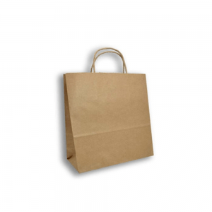 Bolsa-Trenzada-Kraft-33cm-x17cm-x33cm-Biodegradable-purabox