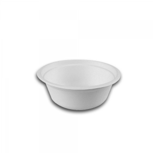 Bowl redondo 500 ml pulpa de papel Biodegradable purabox