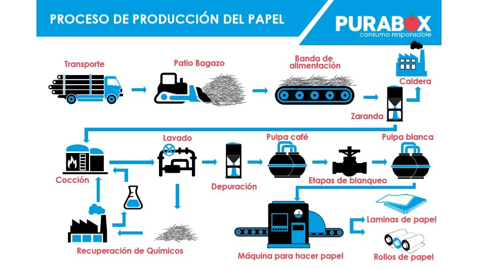 Pulpa de papel Purabox
