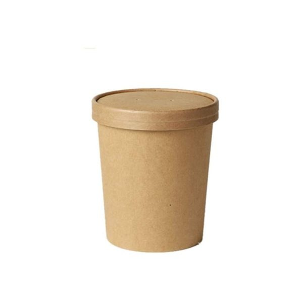 Tazón-Kraft-con-tapa-de-cartón-26-oz-Biodegradable-purabox